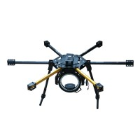 HY-800 FPV Glass Fiber 800mm Hexacopter Multicopter Frame Set with HY-120 Camera Gimbal Landing Skid