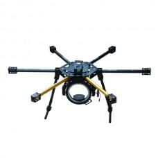 HY-800 FPV Glass Fiber 800mm Hexacopter Multicopter Frame Set with HY-120 Camera Gimbal Landing Skid