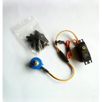 GS-9257MG 360 Deg Servo Continuous Drive Metal Gear Digital RC Servo+External Potentiometer for Camera Gimbal