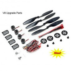 Xaircraft X650 Aircraft Value-8 Multi-Rotor Upgrade Parts Compelete Combo(V4 to V8)