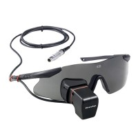 PirateEye HD FPV Video Glass Monocular Video Glasses Goggle for Framing and Data info Return