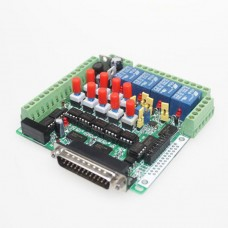 6 Axis MACH3 Isolated Interface Breakout Board Adapter High-Speed Optocoupler
