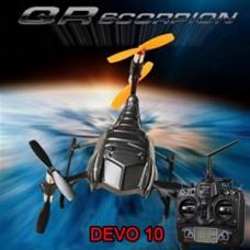 WALKERA QR Scorpion RTF 6 Rotors with DEVO 10 Transmitter 2.4GHz