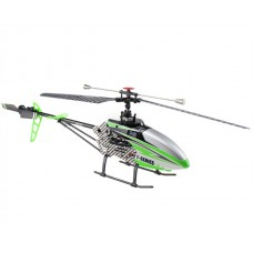 MJX F45 4-channel single rotor 2.4GHz Mini RC Helicopter (Green) with camera