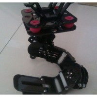 Brushless Gimbal Complete Two Axis Carbon Fiber Aerial Photography Camera PTZ+Motor for Gopro 1/2/3