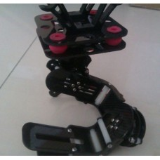 Complete Brushless Gimbal KIT Two Axis Carbon Fiber Aerial Camera PTZ with Control  Board for Gopro 1/2/3
