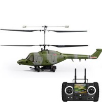 Hubsan H201F FPV Lynx Co-Axial 4CH Helicopter with 2.4Ghz Radio System RTF