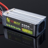 High Quality LION Power 22.2V 2200MAH 40C LiPo Battery BG716