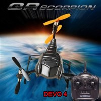 Walkera QR Scorpion Y6 RTF 6 Rotors UFO with DEVO 4 Transmitter 2.4GHz