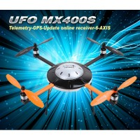 Walkera New UFO MX400S with DEVO 12S 6-Axis Gyro Quadcopter RTF with Aluminum Case 2.4Ghz (Upgraded Version of MX400)