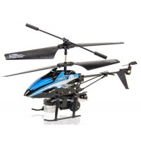 WL V757 Powerful Blow Bubbles RC Helicopter