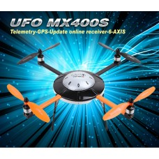 Walkera New UFO MX400S with DEVO 7 6-Axis Gyro Quadcopter RTF with Aluminum Case 2.4Ghz (Upgraded Version of MX400)