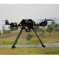 Hobbylord Bumblebee ST550 Carbon Fiber Folding Quadcopter W/ Props Motor ESC Flight Control