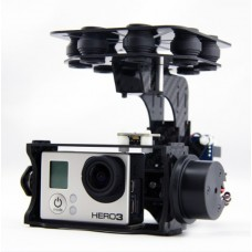 Wind-I Brushless Gimbal KIT Two Axis Carbon Fiber Aerial Photography Camera PTZ for Gopro 1/2/3