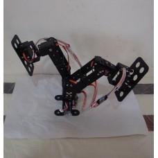 6DOF Biped Robot Educational Turn a Somersault Race Walking Robot Frame Set-Bl