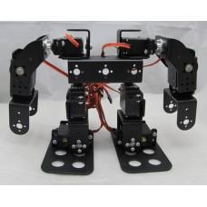 8DOF Humanoid Biped Robotic Educational Robot Mount Kit +8pcs MG945 Servos w/ Metal Servo Horn
