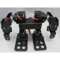 Assembled 8DOF Humanoid Biped Robotic Educational Robot Mount Kit +8pcs MG945 Servos w/ Metal Servo Horn