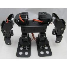 Assembled 8DOF Humanoid Biped Robotic Educational Robot Mount Kit +8pcs MG945 Servos w/ Metal Servo Horn