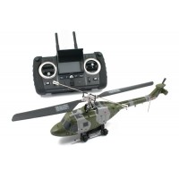 Hubsan H101F FPV Westland Lynx Fixed Pitch 4CH helicopter with 2.4Ghz Radio System RTF