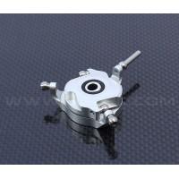 Devil 450 SDC CCPM Metal Swashplate-Bright silver for ALZRC 450 Devil FAST D45F10A