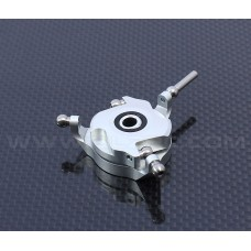 Devil 450 SDC CCPM Metal Swashplate-Bright silver for ALZRC 450 Devil FAST D45F10A