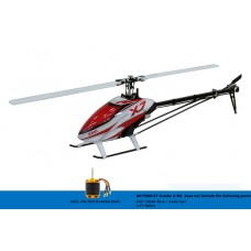 GAUI X7 Combo A Kit RC Helicopter 217002-Red