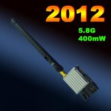 FPV 5.8G 400MW Video Audio A/V Transmitter TX 4KM for 5.8GHz TS353 Rx