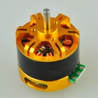 2208 Brushless Motor Special for Gopro 1/2/3(DSLR or FPV) Brushless Camera Gimbal PTZ -Yellow