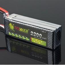 LION Power 11.1V 2200MAH 35C Rechargeable LiPo Battery BT693