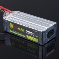 LION Power 22.2V 2800MAH 30C Rechargable LiPo Battery for RC Hobby
