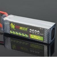 LION Power 14.8V 2600MAH 30C LiPo Battery Rechargable Battery for RC Hobby