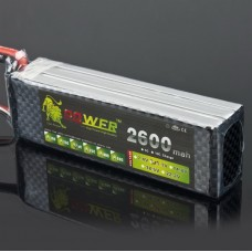 LION Power 11.1V 2600MAH 30C Recharable LiPo Battery For RC Hobby