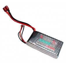 ACE 11.1V 1000mAh 25C LiPo Battery Pack for Helicopter