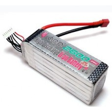 ACE 22.2V 2600mAh 25C LiPo Battery Pack for 500 Helicopter