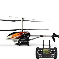 Hubsan H202F FPV Invader Co-Axial 4CH RC Helicopter with 2.4Ghz Radio System RTF