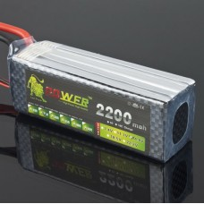 LION Power 14.8V 2200MAH 25C LiPo Battery Recharable RC Hobby Battery
