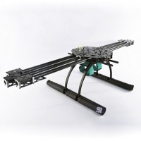 GF-800 Carbon Fiber Hexacopter Hex Multicopter Aircraft w/ Landing Skid Set for FPV Aerial Photography