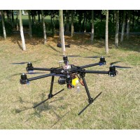 "X800 Photography FPV Carbon Fiber Hexa-rotor Aircraft 14""/15 Prop Hexacopter Airframe Kit 800-850mm"