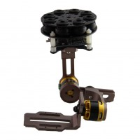 Cloud-I Brushless Camera Gimbal Two Axis Carbon Fiber/Alloy Aerial Photography Camera PTZ w/ 2pcs Motor for Gopro 2/3