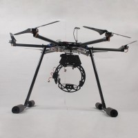 1100mm RTF Professional HexaCopter Complete Kit (Hexacopter+DJI WKM+3 axis Camera Gimbal/Landing Skid+Propeller)