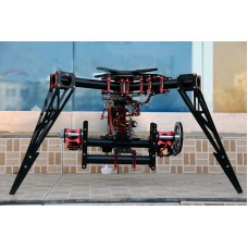 FPV 3-Axis Camera Gimbal Mount PTZ Customized Designed for Aerial Photography Octacopter/RC Helicopter