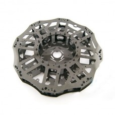 3K Carbon Fiber DIY Copter Center Plate +16pcs Tube Fixtures for 20mm Tube 700-1000mm Hexacopter/Octocopter