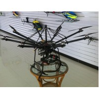 1200mm FPV RTF Copter Carbon Fiber Multicopter/ Folding Octacopter with DJI WKM+Motor ESC Compelet Kit (Carry 5D2)