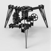 Original CineStar FPV 3-Axis Camera Gimbal PTZ for Aerial Photography Octacopter/RC Helicopter