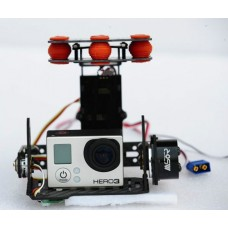 Mastor-G Brushless Gimbals Brushless Camera Gimbal PTZ Compelet for Multicopter Aerial Photpgraphy for GoPro 3/2/1