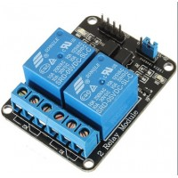 2 Channels 5V Relay Module With Optocoupler For Arduino ARM PIC AVR DSP