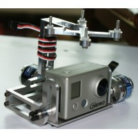 Aluminium 2208/2212 Brushless Motor Camera Gimbal for GoPro 3 FPV Aerial Photography (Russian Code)