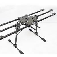 X-CAM CF6-870 FPV Photography Carbon Fiber Folding Hexa HexaCopter Multicopter Frame