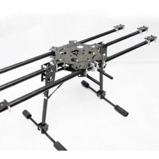 X-CAM CF6-870 FPV Photography Carbon Fiber Folding Hexa HexaCopter Multicopter Frame