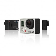 GoPro Hero 3 Silver/Black Edition HD Full 1080P HERO3 Sports Camera with Battery and AV Cable